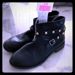 Girls Children's Place Ankle High Studded Boots